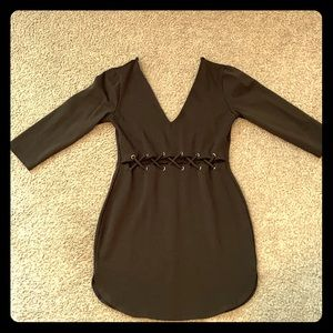 Quarter sleeve Mini Dress